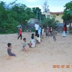 Children playing kho-kho
