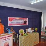 Rev. Swami Punyatmanandaji Maharaj addressing the children