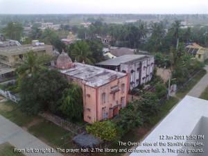 Aerial view of samithi