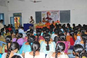 Meeting in the Women's Engineering College