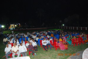 Gathering in the Kona Kalakshetram