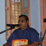 Prof. P. Syamasundara Murthy addressing the devotees 8 Sep 2012