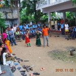 'Narakasura dahanam' Children gathered