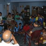 Sri C Sridhar IAS addressing the youth members