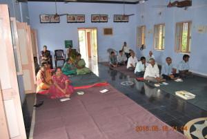 Gathered Devotees