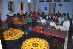 Evening prayer meeting
