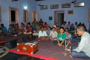 Devotees in Sankirtan