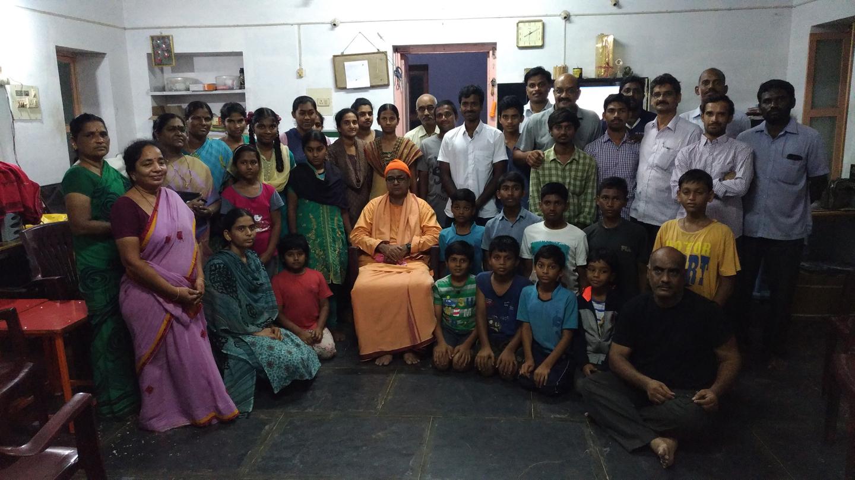 20171123 Rev. Swami Yadunathanandaji Maharaj, Chennai.