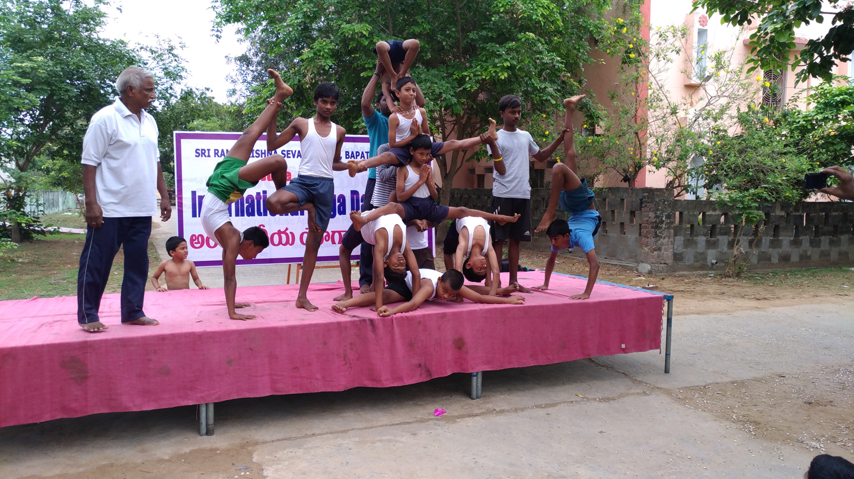 Yoga Day at Samithi