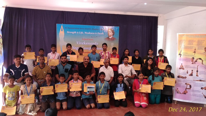 Prize winners. Lower level
