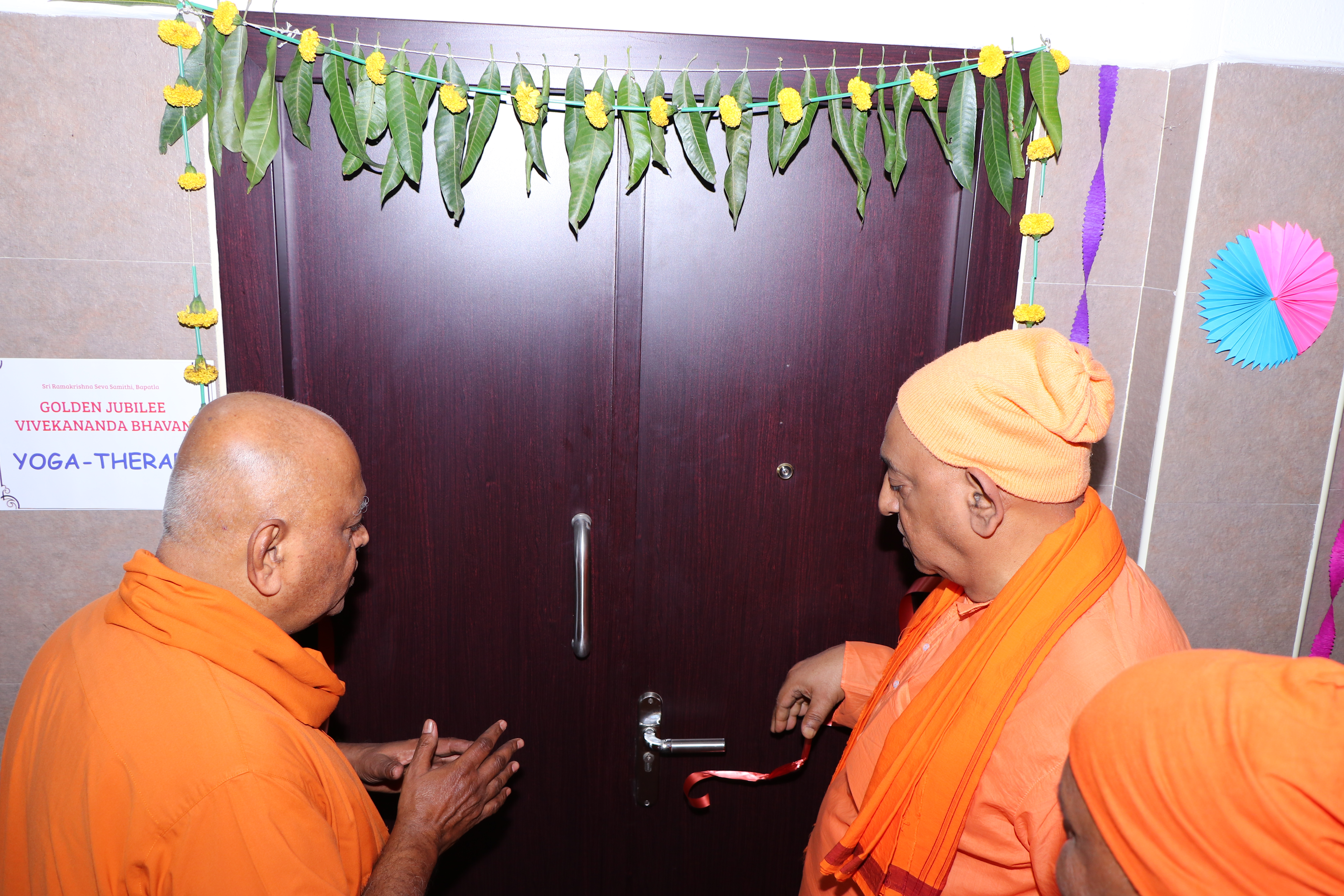 Yoga Therapy room inauguration