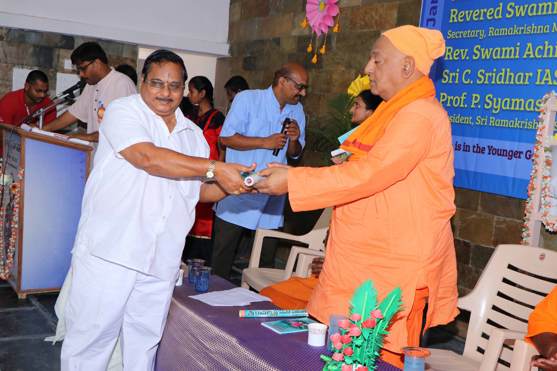 Prof. P. Syamasundara Murthy, President of the samithi