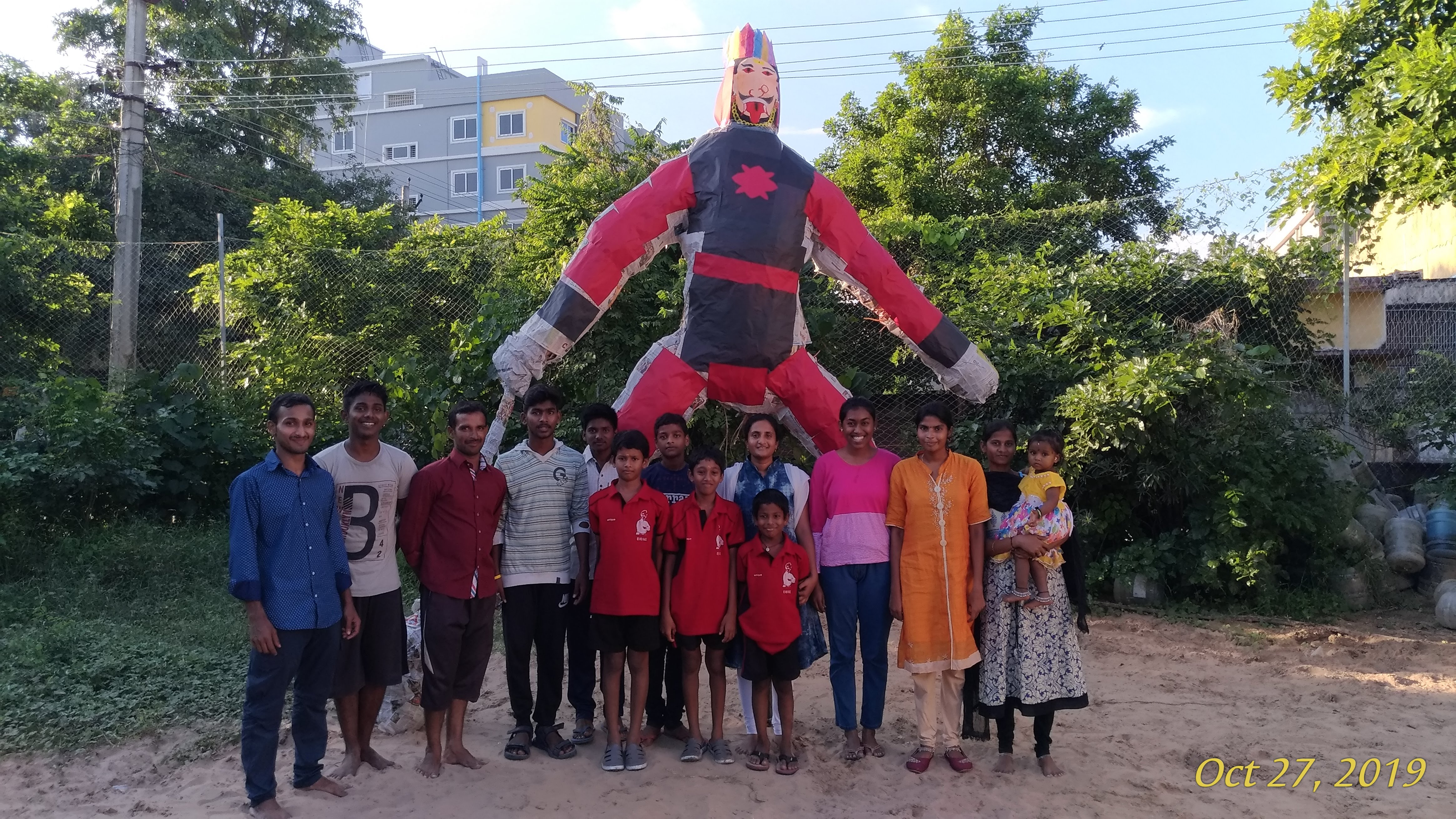 Statue made by Kids