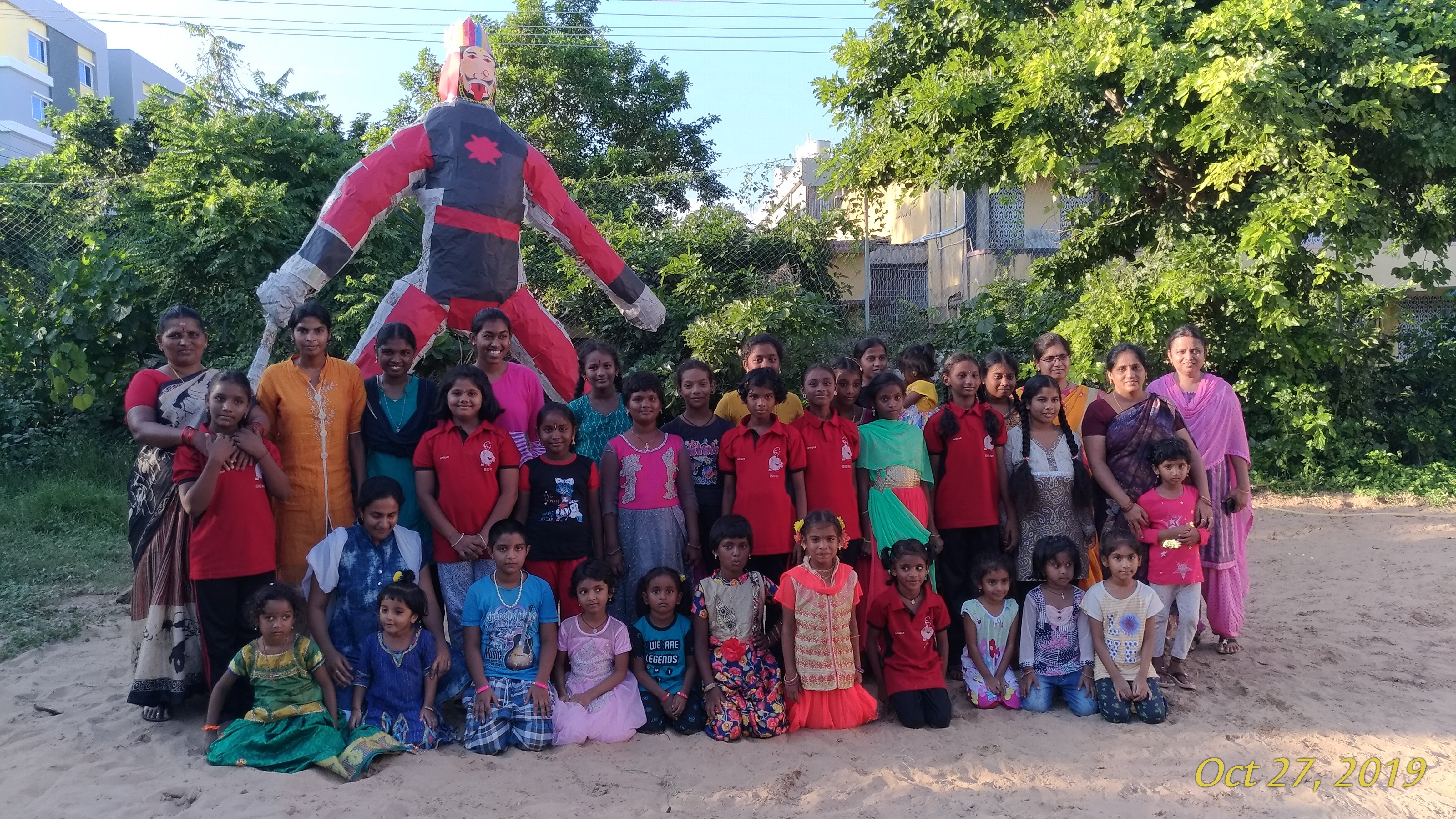 Children with Narakasura