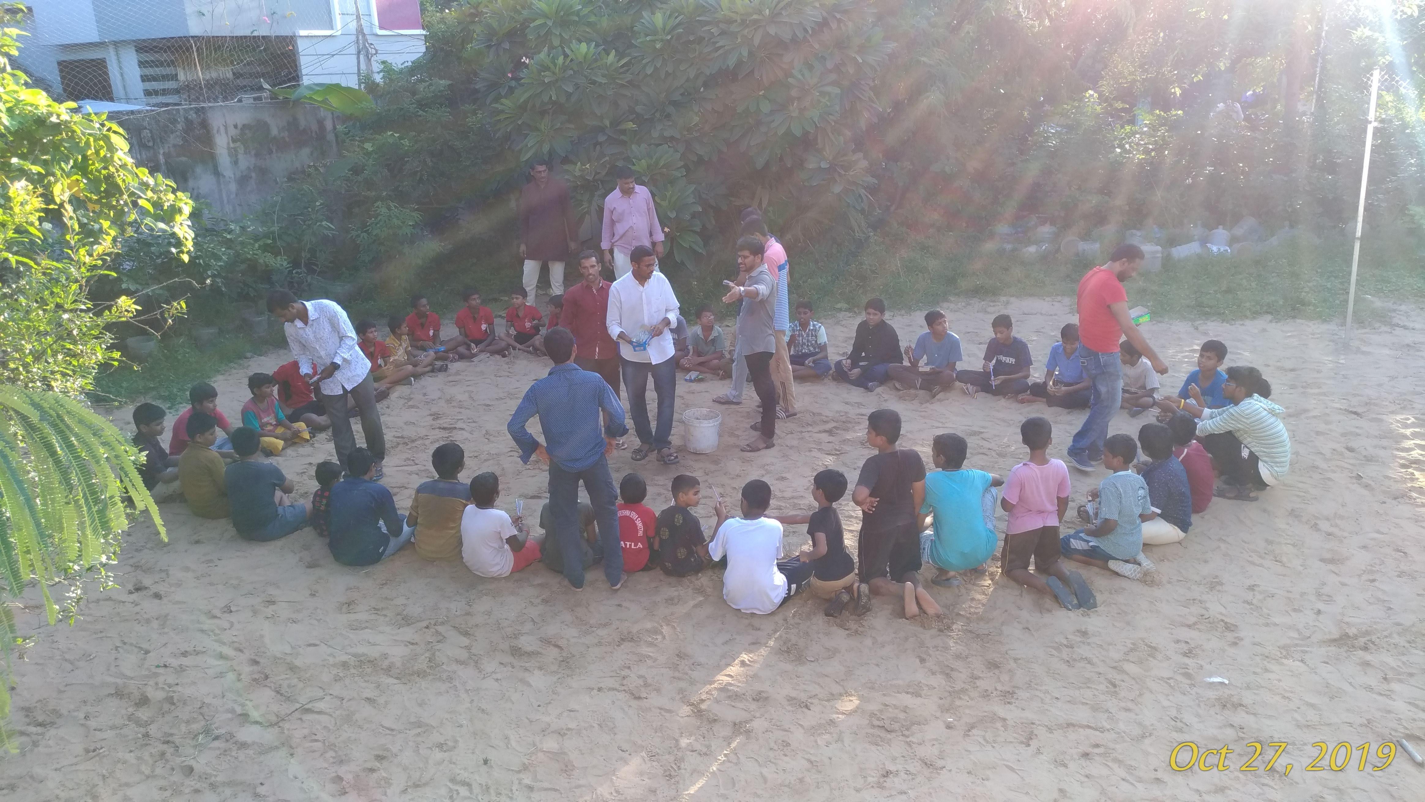 Childrens playing